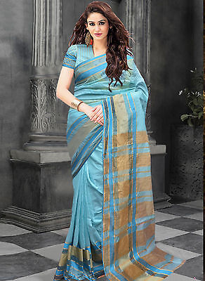 Bollywood Indian Pakistani Ethnic Party Wear Saree Designer Sari with Blouse