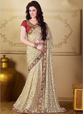 Bollywood Indian Ethnic Party Wedding Designer Bridal Saree Sari With Blouse