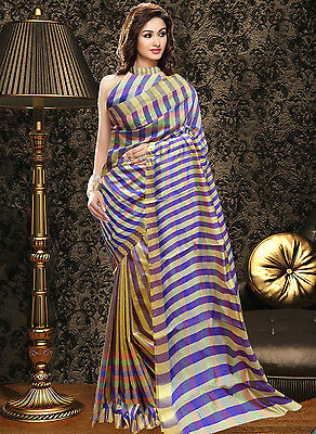Bollywood Indian Ethnic Party Wear Wedding Designer Saree Sari With Blouse