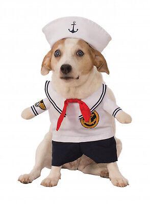 ne Uniform Haustier Hund Katze Halloween Kostüm (Katze Matrose Kostüm)