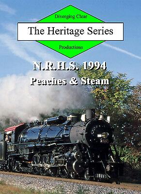Railroad DVD: Frisco 1522 and Norfolk & Western 611 at Atlanta, 1994