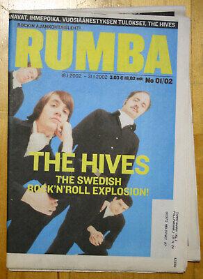 Finnish RUMBA Magazine 01 / 2002 : THE HIVES Cover