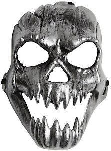 Horror Totenschädel Maske NEU - Karneval Fasching Maske Gesicht