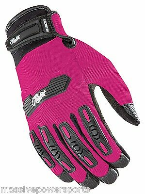 Joe Rocket Velocity 2.0 Motorcycle Gloves Pink Womens Extra Small XS