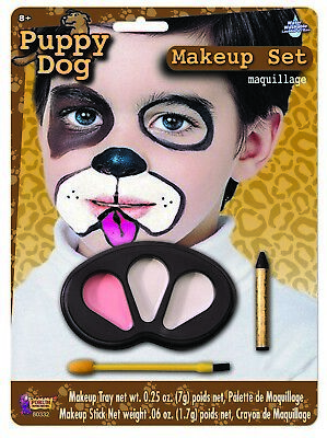Cute Colors Puppy Halloween Face Paint Animal Child Makeup Kit](Cute Halloween Colors)