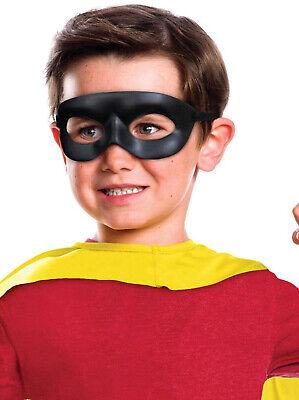 ungen Schwarz Superheld Incredibles Maske Kostüm (Dc Schwarz Maske Kostüm)