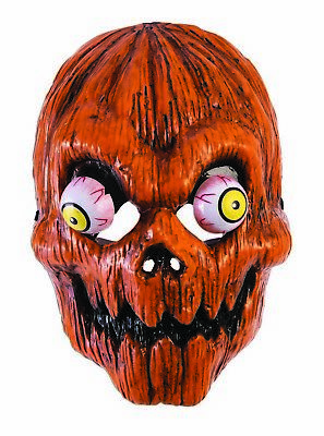 Scary Pumpkin Mask Halloween Costumes (Pumpkin Mens Adult Halloween Scary Costume Accessory)