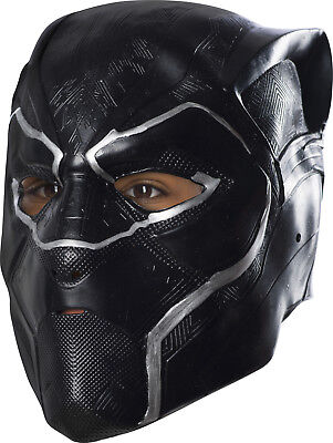 Child Black Panther Movie Full Boys Superhero Costume Mask](Full Black Costume)
