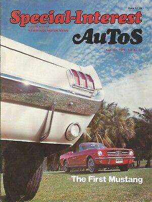 Special Interest Autos 1974 Sept  24   Mustang Special  Porsche Studebaker