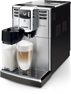 Saeco HD8917 / 01 Incanto coffee espresso super automatic machine silver , used for sale  Shipping to Canada