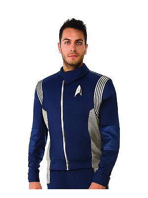 Science Uniform Deluxe Mens Adult Star Trek Halloween Costume (Science Halloween Costumes)