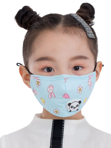 Kids Face Mask Reusable Washable Cover Mouth & Nose Accessories