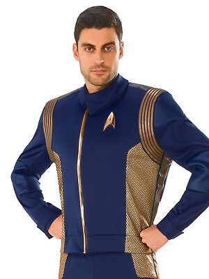 Operation Man Halloween Costume (Operations Uniform Deluxe Mens Adult Star Trek Halloween)