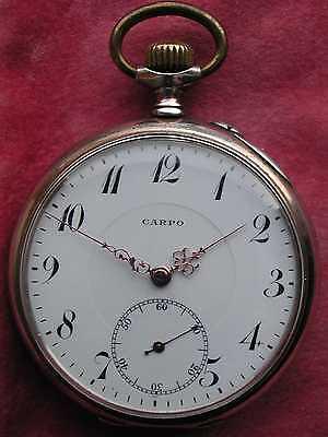 Silber (800er) Herren Taschenuhr, pocket watch silver