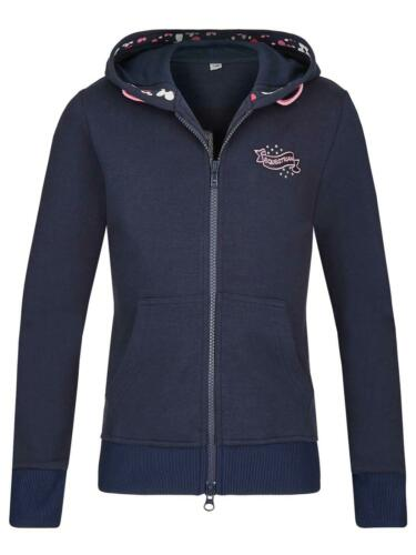 Busse Sweat Shirt Jacket Kids Collection VII Childrens Hoodie Riding Navy