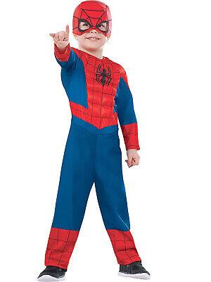 Ultimate Spiderman Marvel Superheld Deluxe Gepolsterter Junge Kleinkind Kostüm