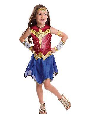 Justice League Girls Wonder Woman Dc Superhero Halloween Cosplay