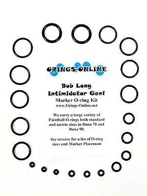 Bob Long Intimidator Gen1 Paintball O-ring Oring Kit x 4 rebuilds / kits