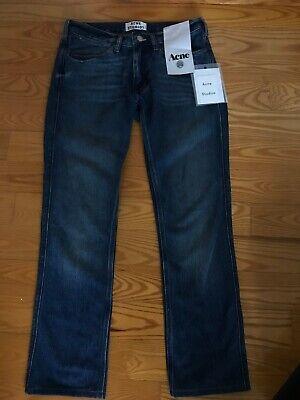 Acne Studios Denim Jeans, Max Style, Vintage Blue Wash, Size 29/30,