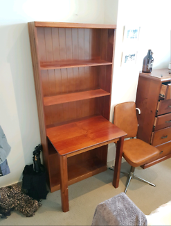 Desk  bookcase