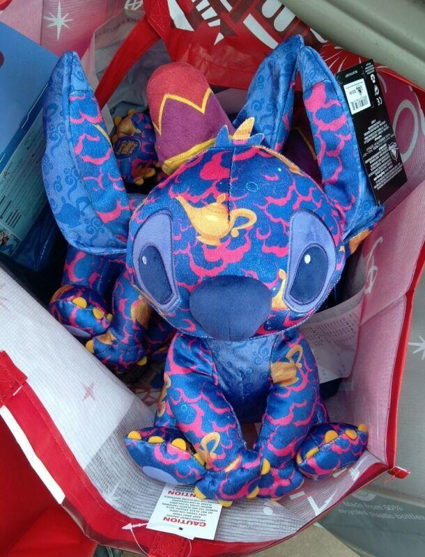 Disney Stitch Crashes Aladdin Plush June #6 Limited Release IN HAND