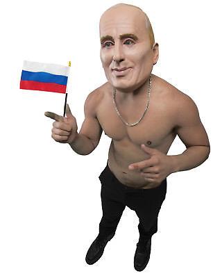 The Vlad Adult Russian Politician Putin Latex Costume Mask - Politician Halloween Costumes
