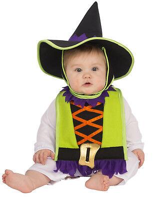 Hexe Kleinkinder Lätzchen Spitz Hut Halloween Kostüm