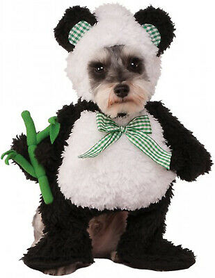 Walking Panda Black White Bear Pet Dog Cat Halloween (Pet Panda Kostüm)