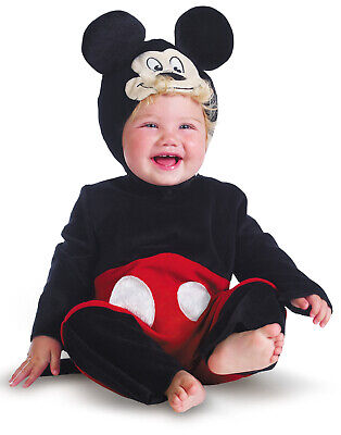 Mickey Mouse Disney Baby Boy Halloween Party Costume Infant (6-12 - Mickey Mouse Baby Costume Halloween
