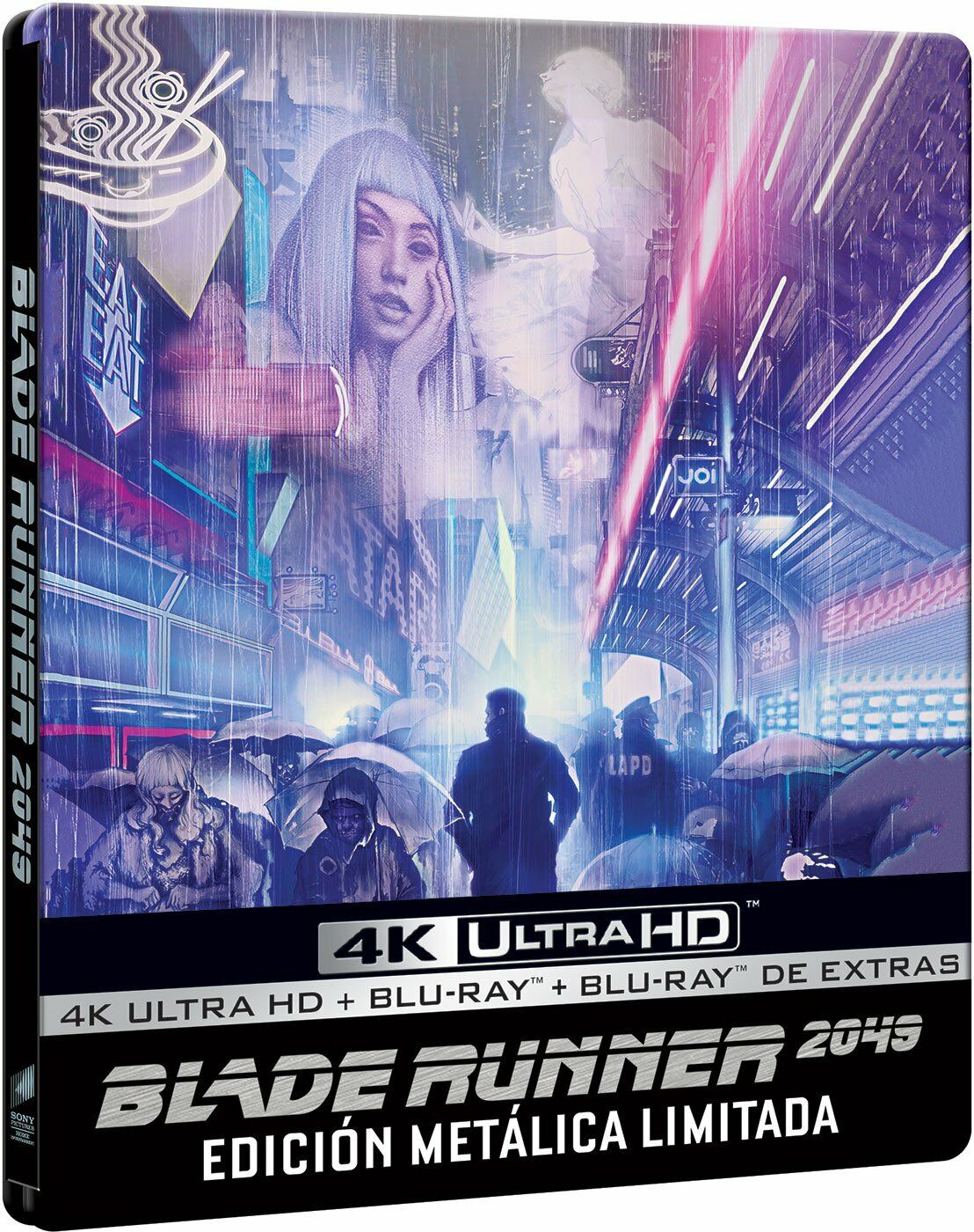 Blade Runner 2049 4k Uhd 3d Blu Ray 3 Disc Multi Language Options For Sale Online Ebay