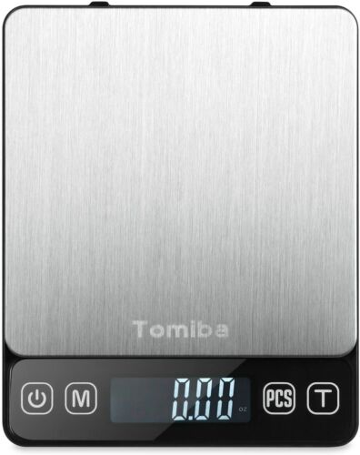 Digital Kitchen Food Scale 0.01oz/0.1g - 3000g Portable Touch Pocket Scale