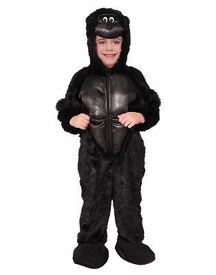 Gorilla Child Halloween Costume (Gorilla Boys Child Plush Monkey Animal Halloween)