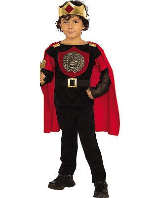 Child King Halloween Costume (Little Knight Boy Royal King Soldier Child Halloween)