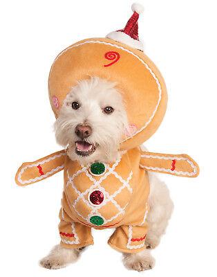 Walking Lebkuchen Mann Haustier Hund Katze Winter Weihnachten - Urlaub Hund Kostüme