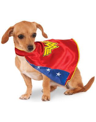 DC Comics Wonder Woman Pet Dog Superhero Halloween - Wonder Woman Pet Kostüm