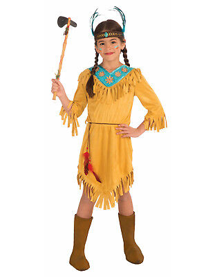 Little Flower Girls Child Native American Pocahontas Halloween Costume - Pocahontas Halloween Costume For Girls