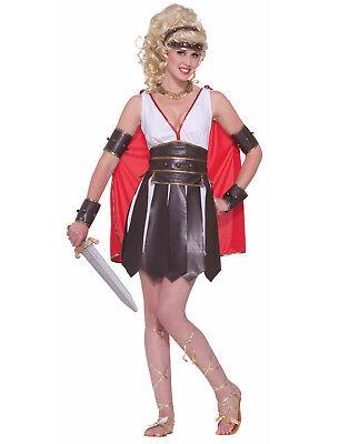 Sexy Gladiator Damen Erwachsene Griechisch Römisch Spartaner Halloween Kostüm