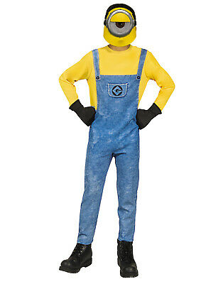 Despicable Me 3 Minion Mel Boy Childs Halloween Costume (Minion Boy Costume)