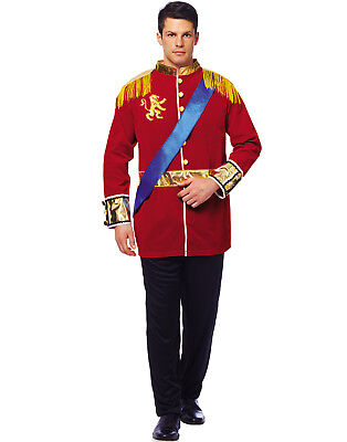 Mens Classic Prince Charming Cinderella Halloween Costume Adult - Adult Prince Charming