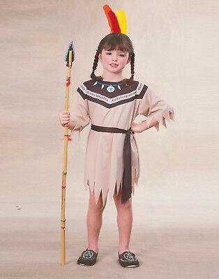 Mädchen Indianer Prinzessin Indian Pocahontas Kostüm M