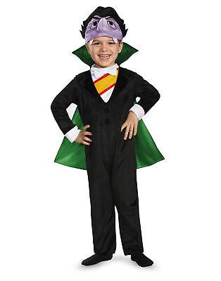 Sesame Street The Count Dracula Child Toddler Costume Boys Girls - Count Sesame Street Kostüme
