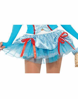 Farm Mädchen Damen Erwachsene Dorothy Zauberer von oz Kostüm Zubehör Tutu - Farm Mädchen Kostüm
