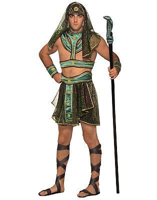 Faraone Egiziano Uomo Adulto Re di Egitto Halloween Costume-Std