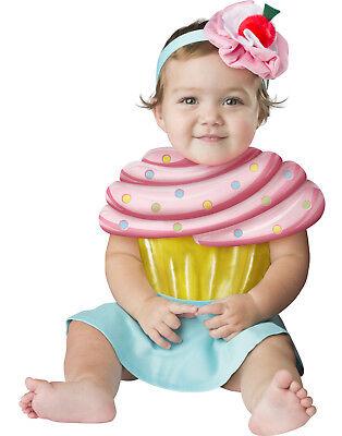 Cupcake Cutie Girls Infant Halloween Sweet Dessert - Infant Cupcake Halloween Costume