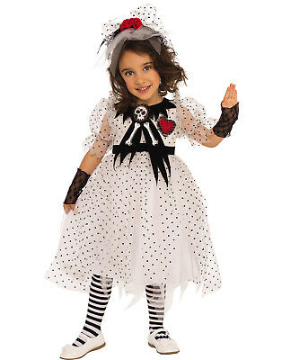Ghost Girl Child Creepy Little School Ghoul Halloween - Creepy Little Girl Halloween Costume