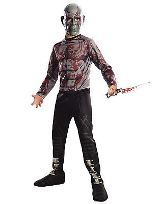 Guardians Of The Galaxy Drax The Destroyer Movie Boys Halloween Costumes - Drax The Destroyer Halloween