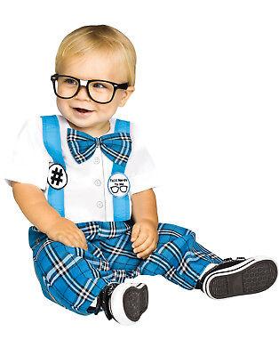 Baby Genius Toddler Nerdy School Boy Uniform Halloween Costume - Schoolboy Halloween