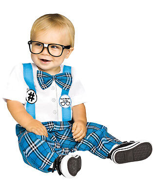 Nerdy Toddler Halloween Costumes (Baby Genius Toddler Nerdy School Boy Uniform Halloween)