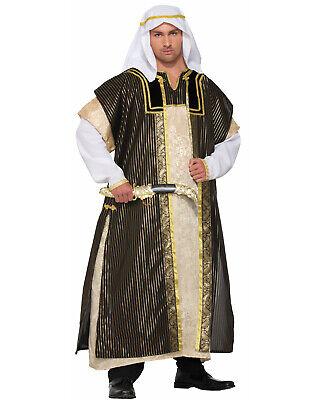 Desert Arab Sheik Aladdin Sultan Robe Dress Adult Costume-Std