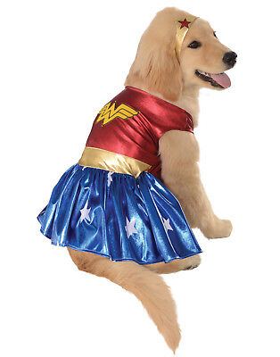 Dog Wonder Woman Super Hero Dress Up Pet - Wonder Pets Dog Kostüm